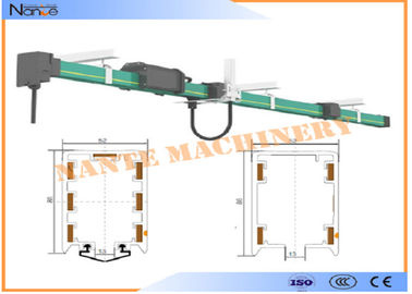 PVC Housing Crane Parts HFP52 Power Rail Enclosed Conductor System