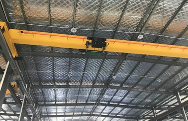Heavy Duty Single Beam Overhead Crane to Heavy Machine for Shops , Paper Mills