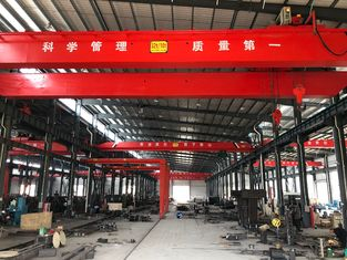 LH10T - 20M Custom Double Girder Overhead Cranes For Machine Shops