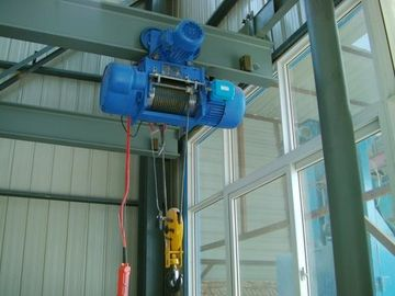 CD / MD Type Electric Wire Rope Hoist For Overhead Crane , High Performance